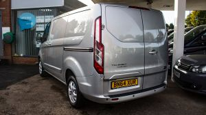 FORD TRANSIT CUSTOM 2.2 TDCI 125 PS 270 L1 SWB LIMITED FULLY LOADED WITH EXTRAS - 2342 - 6