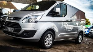 FORD TRANSIT CUSTOM 2.2 TDCI 125 PS 270 L1 SWB LIMITED FULLY LOADED WITH EXTRAS - 2342 - 5