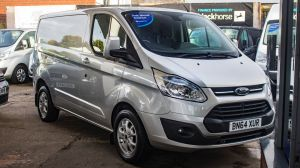 FORD TRANSIT CUSTOM 2.2 TDCI 125 PS 270 L1 SWB LIMITED FULLY LOADED WITH EXTRAS - 2342 - 1