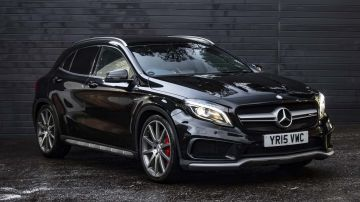 Used MERCEDES GLA-CLASS in Surrey for sale